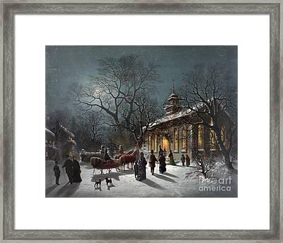 New Years Eve, C1876 Framed Print by Granger