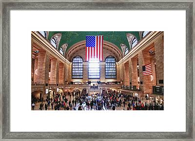 New York - Grand Central Terminal Framed Print