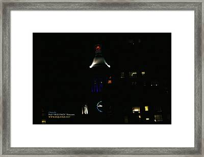 New York 14 Street Framed Print