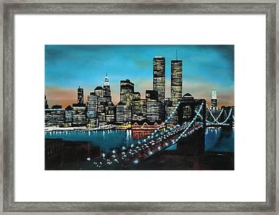 New York 910 Framed Print