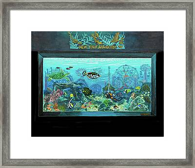 New York Aquarium Framed Print