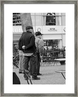 New York Bocce Volo Framed Print