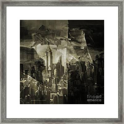 New York City 002c Framed Print