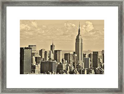 New York City 15 Framed Print by Adam Riggs