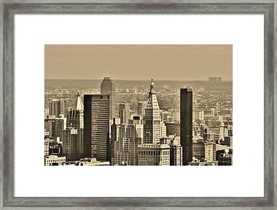 New York City 23 Framed Print by Adam Riggs