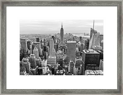 New York City Framed Print by Anthony Sacco