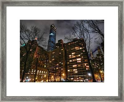 New York City - Central Park 003 Framed Print by Lance Vaughn