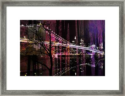 New York City Framed Print by Christine Mayfield