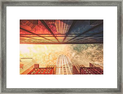 New York City - Chrysler Building Framed Print by Vivienne Gucwa