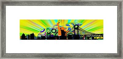 New York City Colors Framed Print by Stefano Senise