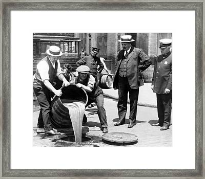 New York City Deputy Police Framed Print by Everett