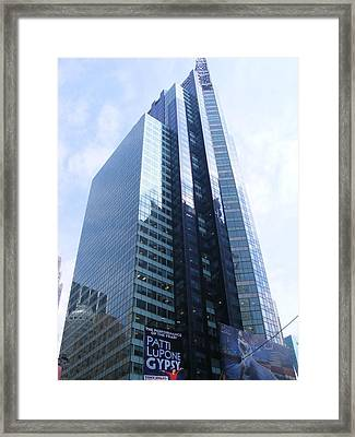 Framed Print featuring the photograph New York City Highrise by Margie Avellino
