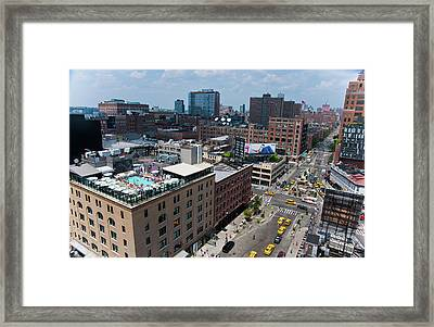 New York City Meat Packing District Framed Print