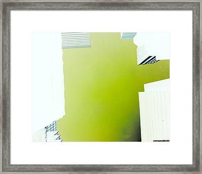 New York City Negative Framed Print by Gerard Yates