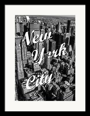 Black And White Art Framed Prints