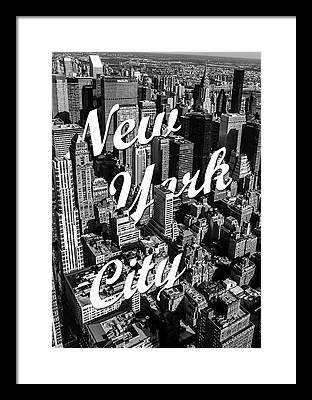 Manhattan Photographs Framed Prints