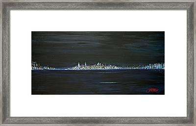 New York City Nights Framed Print