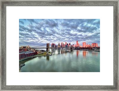 New York City Framed Print by Photography by Steve Kelley aka mudpig