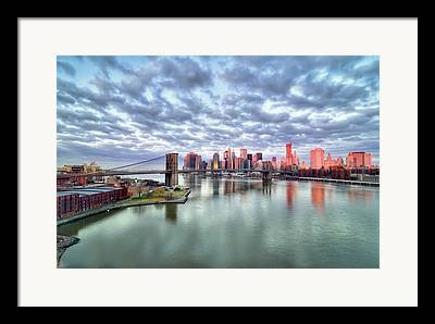 East River Drive Framed Prints