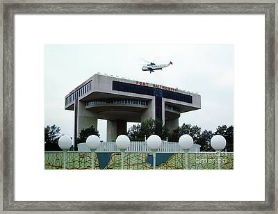 New York City Port Authority Helicopter Pad, New York World's Fa Framed Print by Photovault