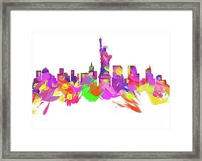 New York City  Framed Print by Prar Kulasekara