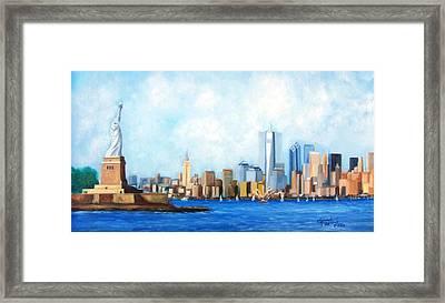 New York City Rebirth Framed Print