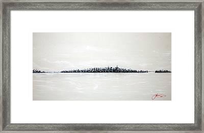 New York City Skyline 48 Framed Print