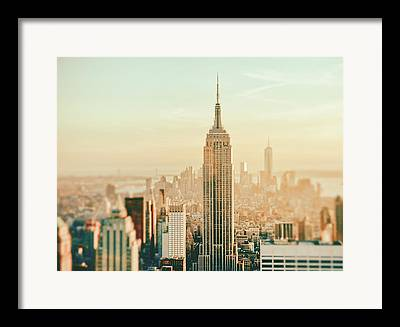 Aerial Photographs Framed Prints