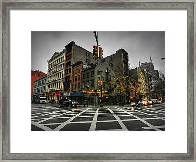 New York City - Soho 005 Framed Print by Lance Vaughn