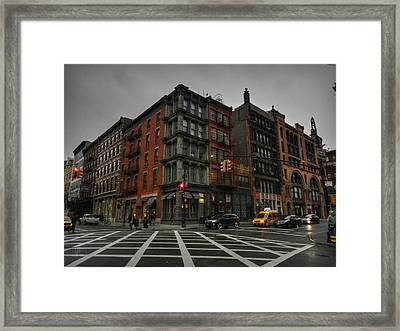 New York City - Soho 006 Framed Print