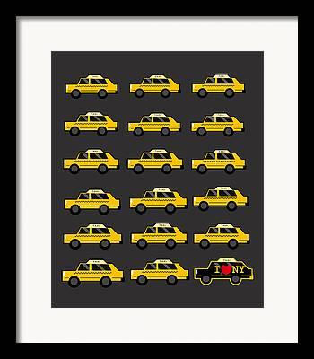 Cab Framed Prints