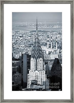 New York City - Usa - Chrysler Building Framed Print