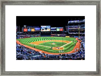New York City Yankee Stadium Framed Print