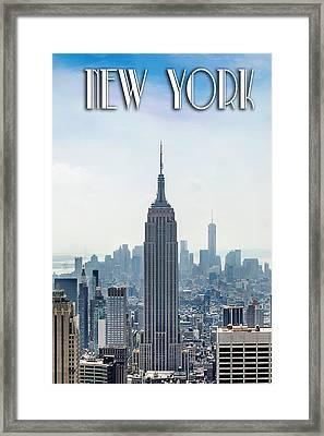 New York Classic Framed Print