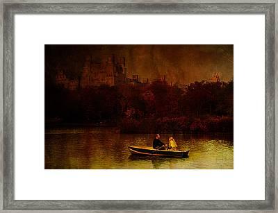 New York Fall Framed Print by Jeff Burgess