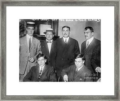 New York Gangsters, 1912 Framed Print by Granger