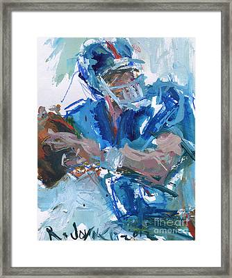 New York Giants Artwork Framed Print