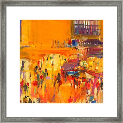 New York  Grand Central Framed Print by Peter Graham