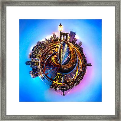 New York Heartbeat Framed Print by Az Jackson