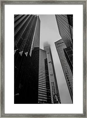 New York Highrise Framed Print by Martin Newman