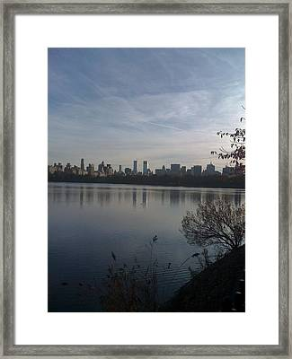 New York Is Beautiful Framed Print by Wendy Uvino