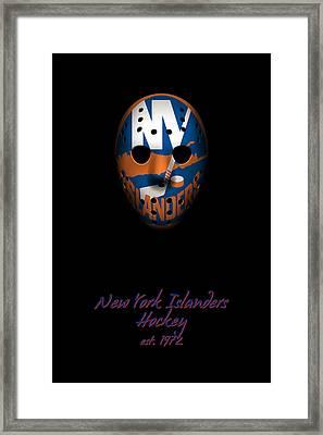 New York Islanders Established Framed Print