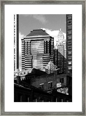 New York Jazz Framed Print