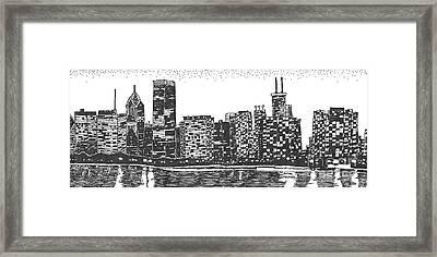 New York Framed Print by Jo Anna McGinnis