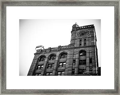 Montreal New York Life Insurance Building Framed Print by John Rizzuto