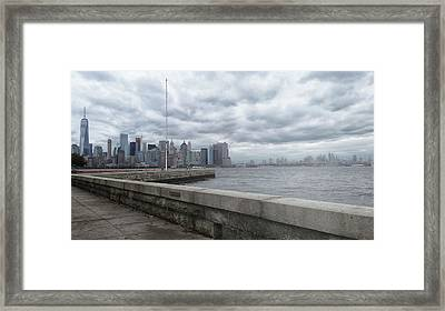 New York Framed Print by Martin Newman