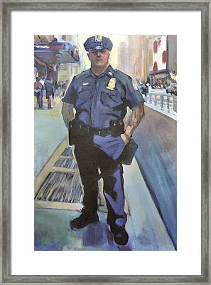 New York Framed Print by Merle Keller