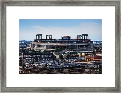 New York Mets Citi Field Framed Print by Nishanth Gopinathan