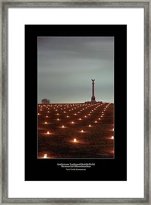 New York Monument 07 Framed Print by Judi Quelland