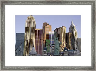 New York New York 05 Framed Print by Keith Mucha